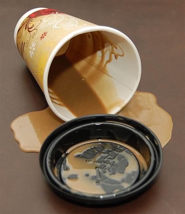 fake spills fake food