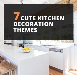7 Cute Kitchen Decoration Themes