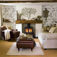 5 Warm and Cozy Small Living Room Ideas With A Fireplace ...