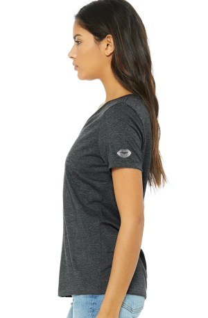just doing life silver lips tshirt - left