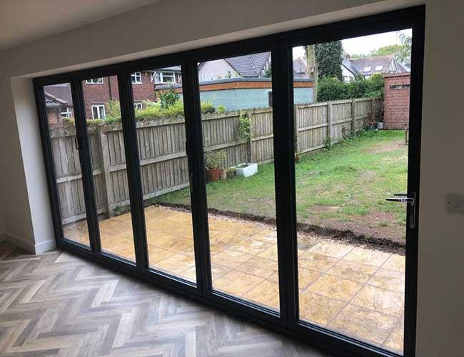 3 panel aluminium bifold doors 3 2 1