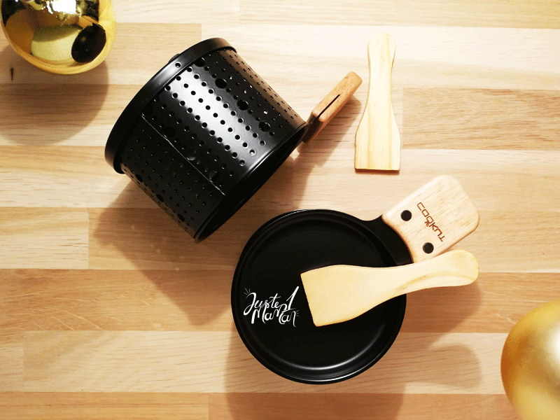 duo bougie raclette cookut