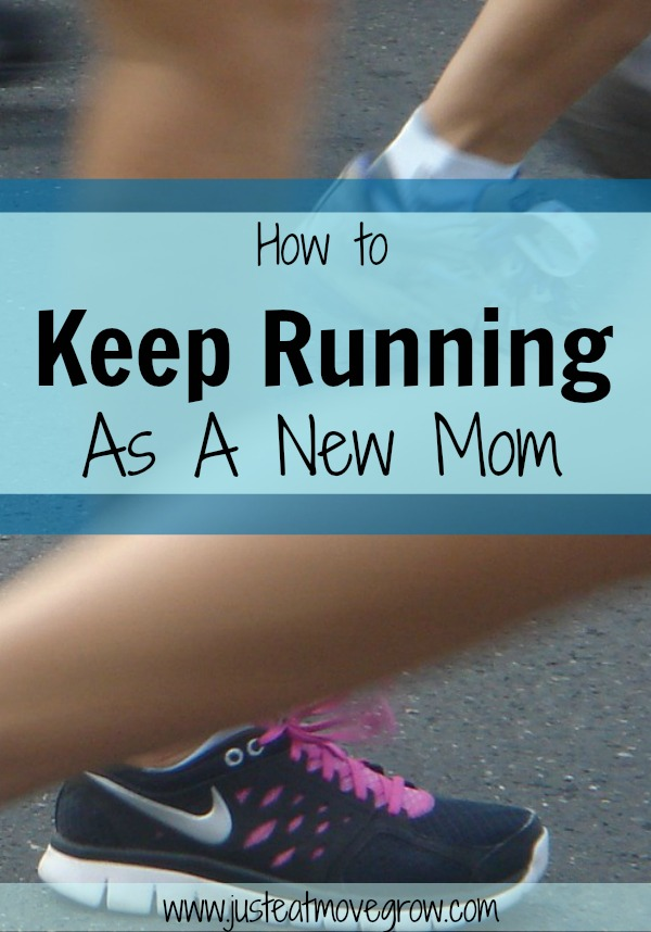 You can keep running as a mom