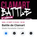 page Facebook du Battle de Clamart
