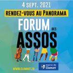 Affiche du forum des associations de Clamart 2021