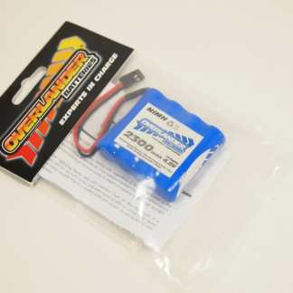 4.8v flat ign/rec battery pack