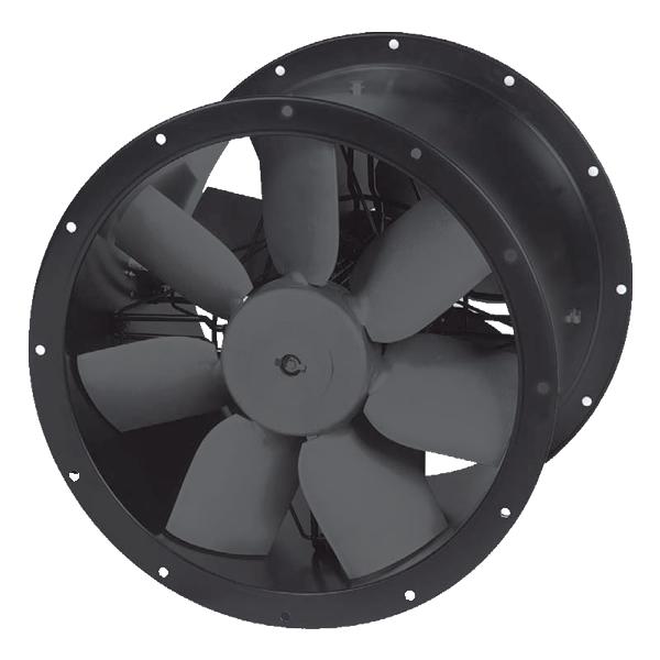 Commercial Kitchen Fans   Contrafoil TCBBx2 Plus Contra Rotating Case Axial Fan Kit