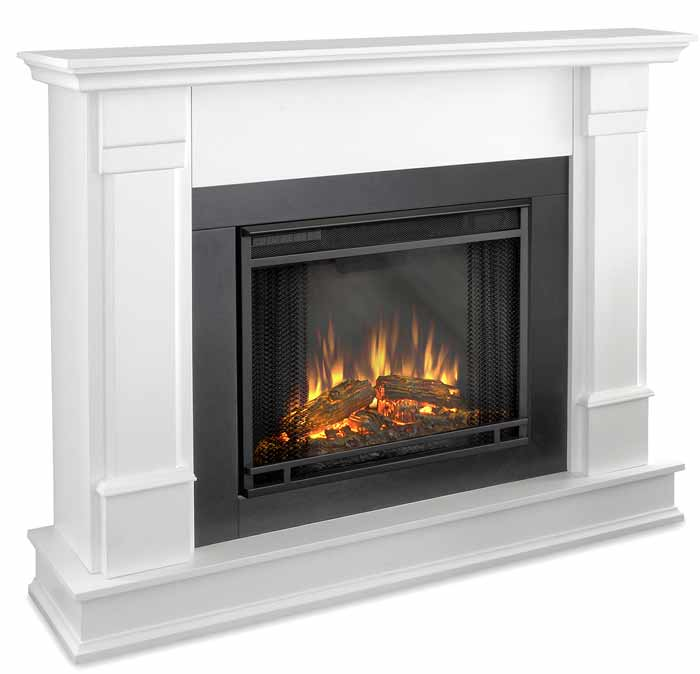 Silverton G8600EW White Electric Fireplace  Just Fireplaces