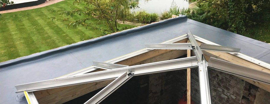 Case Study: Orangery Roof Extension