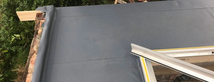 Getting a new flat roof