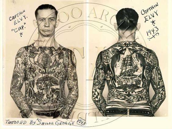 marin tatoué