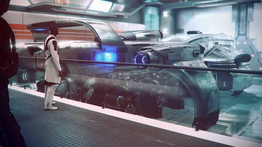Star Citizen, gros vaisseau 1