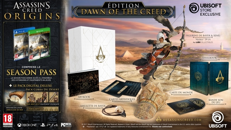 Assassin's Creed édition Dawn of the Creed