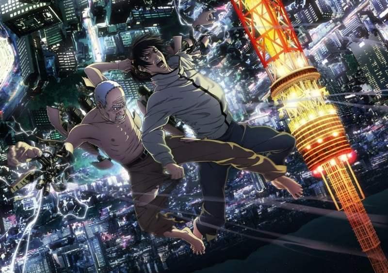 Last Hero Inuyashiki affiche anime