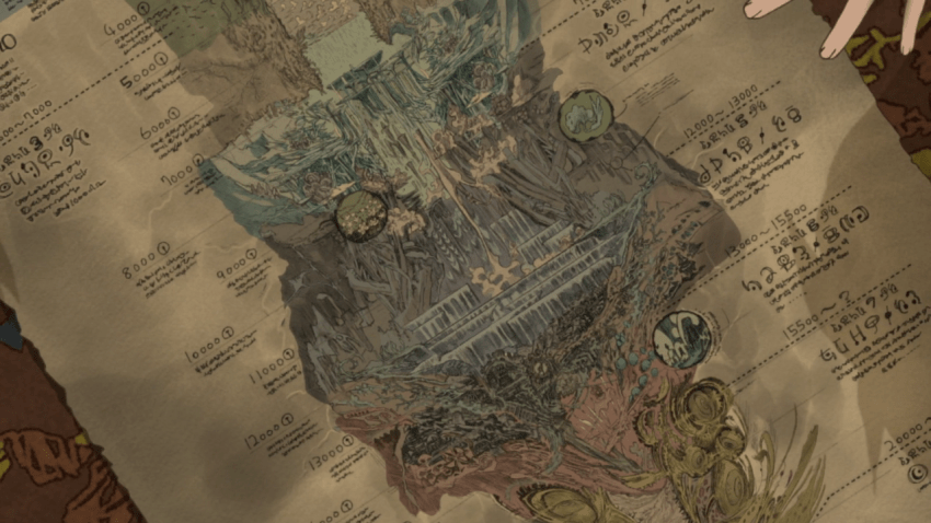Made in Abyss Map