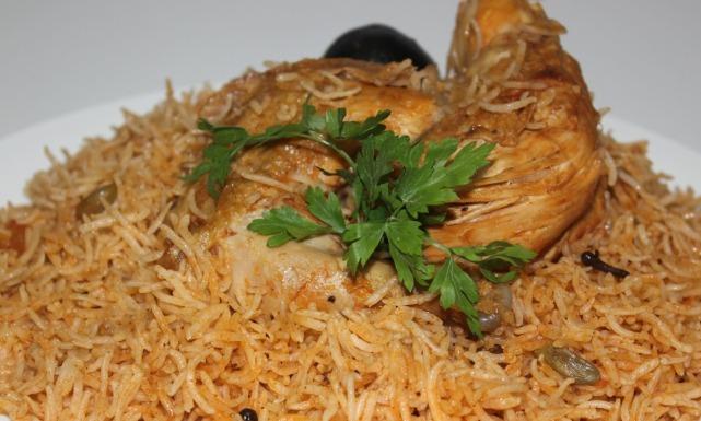 طريقة عمل كبسة دجاج سعودية Just Food
