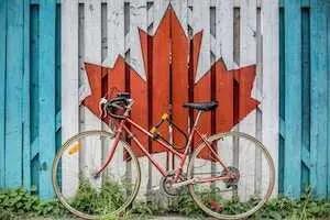 bike in Canada