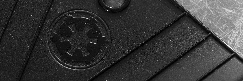 Darth Vader Oven Glove Set Empire logo