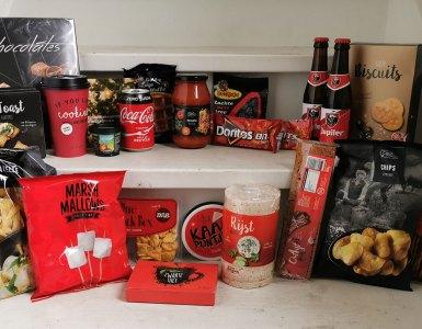 Inhoud Makro kerstpakket In Rode Kerstsferen