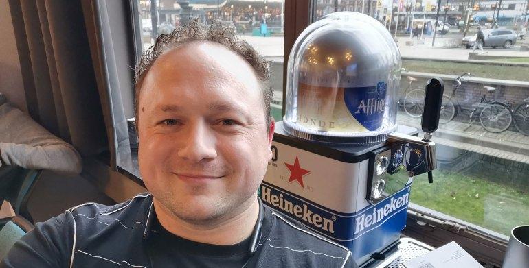 Heineken Blade en Arjan Olsder