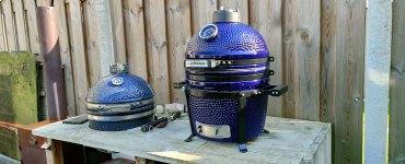 Keij Kamado BBQ Blue Compact