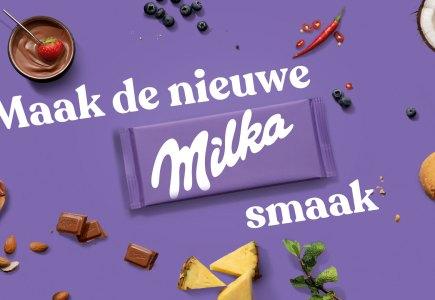 Maak de nieuwe Milka Smaak Campagne