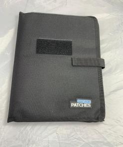 Patch book black