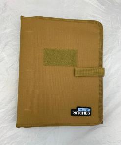 Patch Collector Display Book - Tan
