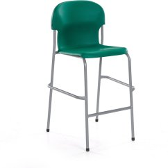 Green High Chair Chairs For Patio Table Metalliform 2000 Size 1 Seat Height 620mm