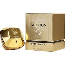 Paco Rabanne Lady Million Absolutely Gold EDP 80ml for Women