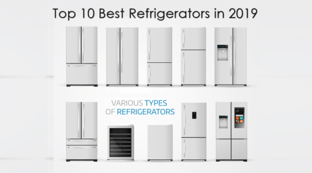 Different Brands of refrigerators