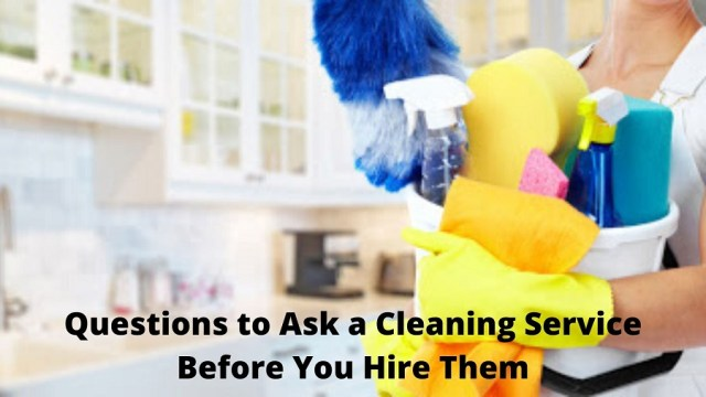hire cleaning service