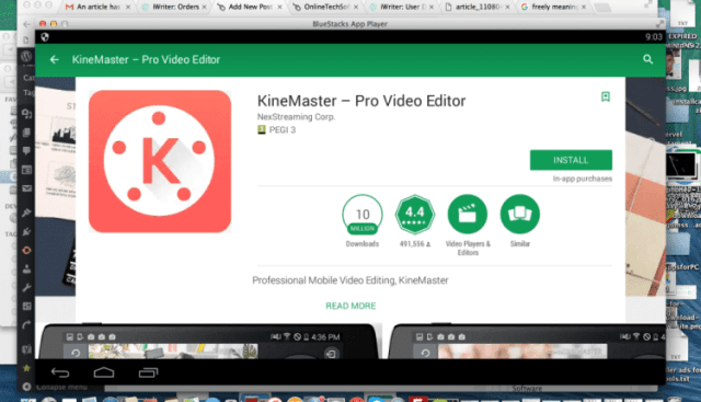 KineMaster For PC data