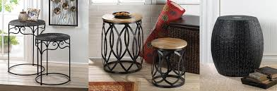 4 Accent Stools to Boost Your Living Room Decor