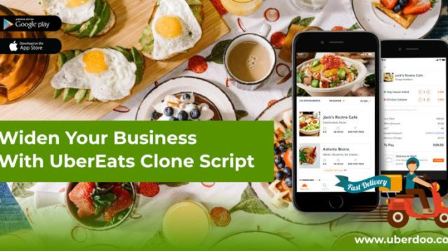 Benfits of developing an Uber Eats clone app