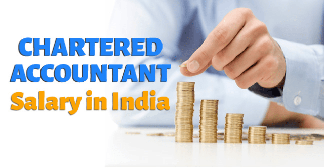What is the expected CA Salary in India per month?