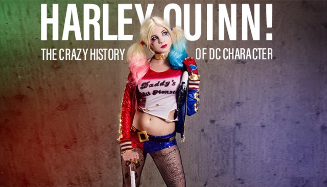The Crazy History of DC Character: Harley Quinn!