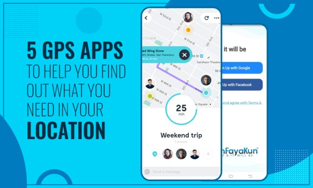 5 GPS apps to help you find out what you need in your location