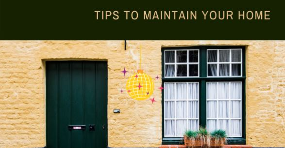 maintain home