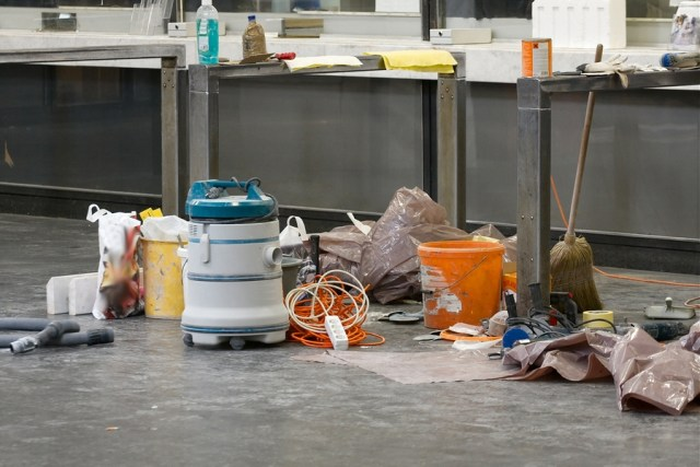 hire professional construction cleaners