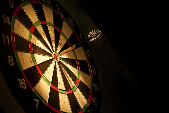 Stand up Dart Boards
