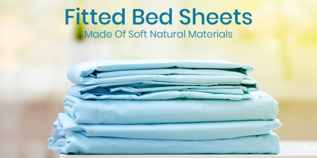 Fitted Bed Sheets made of soft natural materials