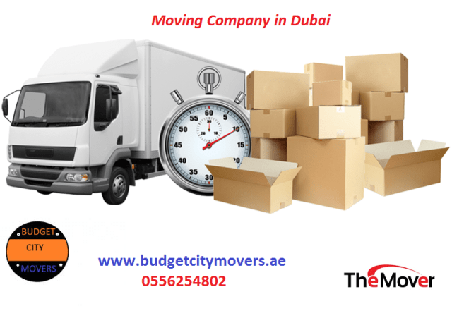 The Best Moving Company In Dubai, Budget City Movers Take All Stress
