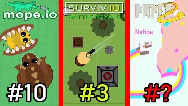 Top Most Popular .io Games To Play Online With Friends and Family!