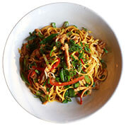 Which Ingredients are used in a Classic Chicken Chowmein?