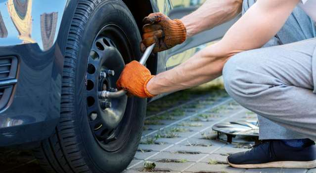 Planning to replace tyre