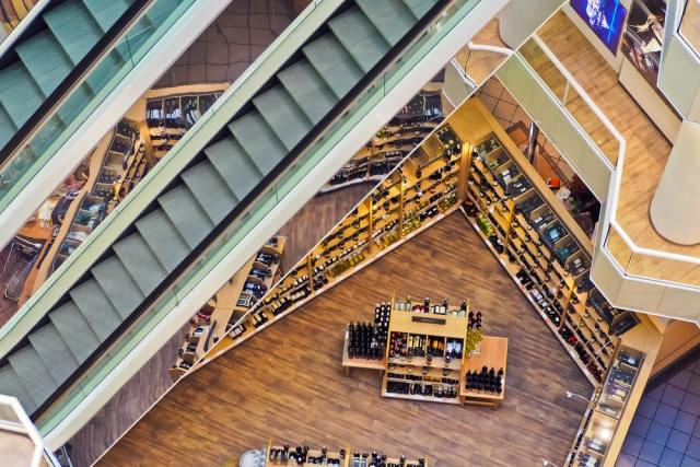 security of large retail stores
