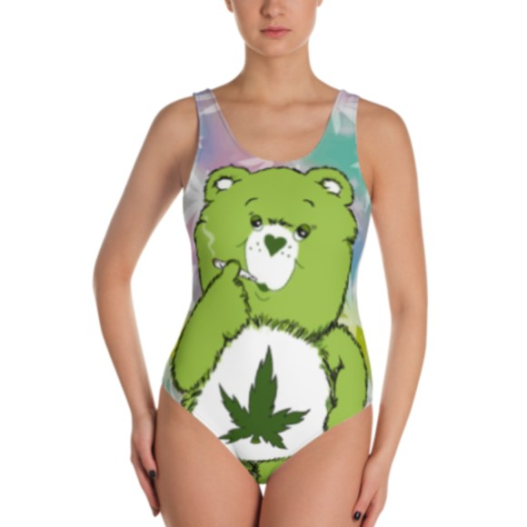 JUST GET HIGH _ CANNABEAR FRONT