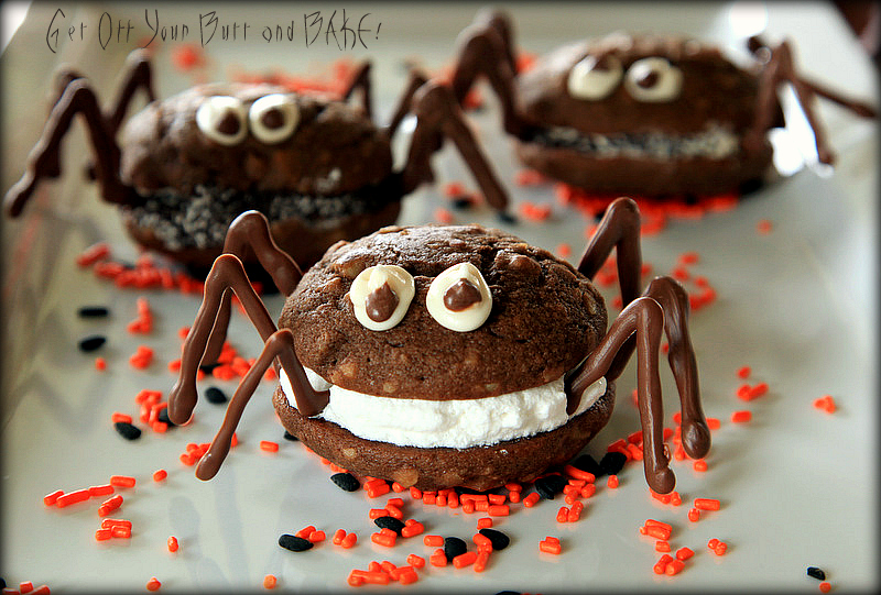 Creepy Crawly Whoopie Pie Spiders  httpswww