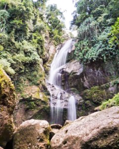 Lubuk Hitam Waterfall in Bukit Barisan | Indonesia Travel 1
